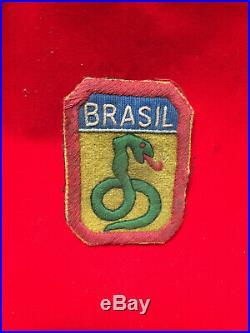 WWII WW2 BRASIL BRAZIL PATCH ORIGINAL Raro FEB War US Army 5 Army