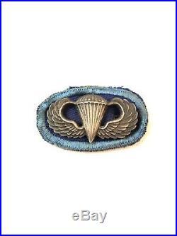 WWII WW2 US U. S. 502nd Airborne Insignia, Paratrooper, Army, Original, PIR, Infantry