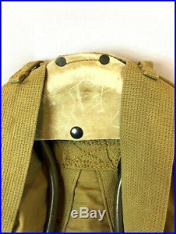 WWII WW2 US U. S. Backpack, Rucksack, Original, Canvas, Army, Military, Field, Dated, War