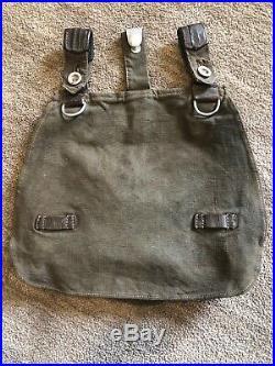 WWii Original German Army Heer Bread Bag Early War In Very Good Condition