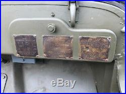 Wow Original Early Wwii 1942 Ford Gpw Script Jeep Willys MB Military Us Army