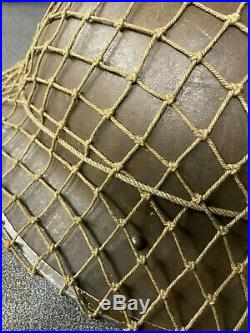 Ww2 Britsh Army Bef Steel Helmet + Net, All Original Superb Example Untouched