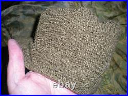 Ww2 Original Us Army Jeep Cap Good Shape Size Medium, Used G. I. Helmet Hat O. D