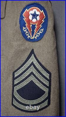 Ww2 Us Army British-made Nco Uniform, 17th Airborne