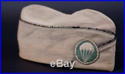 Ww2 Us Army Paratroop Officers Overseas Cap, Airborne Original
