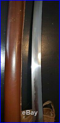 WwII Japanese Army officer's samurai sword FOR PILOT OR TANK CREW COCKPIT