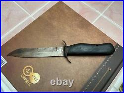 Wwii Red Army Original H-43 Scout Knife. Stamped Zlatoust 1943. Rare