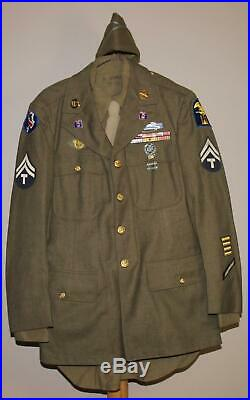 Wwii Us Army Infantry Amphibian Units Of The Western Pacific Od Wool Uniform