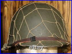 Wwii Us Army/usmc M-1 Front Seam 85 G Helmet Mine Safety Appliance Company Liner