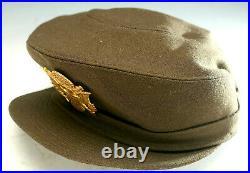 Wwii Womans Nurse Cap Anc Wac Nurse Od Dress Cap Impeccable! Us Army