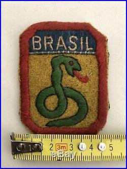 Wwii Ww2 2wk Brasil Brazil Patch Original Raro Feb War Us Army 5 Army