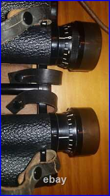 Zeiss WWII 8x30 1939 Binoculars Brazilian Army COMPLETE! ORIGINAL Never Opened