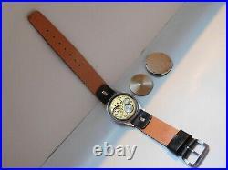 Zenith D. H. Dienstuhr Heer Militäruhr German Army WW2 Military Watch Swiss Made